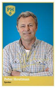 Peter Houtman PR Spreker